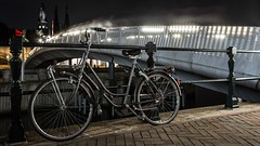 Amsterdam transport (McQuaide Photography) Tags: street city longexposure nightphotography bridge light summer urban holland colour netherlands amsterdam bike bicycle architecture night photoshop canon eos evening licht europe nacht availablelight widescreen tripod transport nederland panoramic zomer transportation brug fullframe dslr avond gazelle 169 1740mm stad fiets lightroom straat 6d kleur lseries westerdok stadsfiets canon6d westerdoksplein hanlammersbrug gazellefiets royaldutchgazelle koninklijkegazelle mcquaidephotography