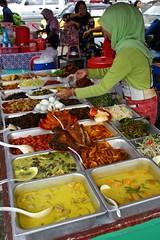 Food market, Kota Kinabalu, Borneo, Malaysia