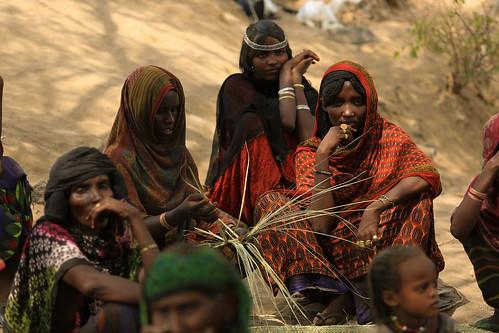 Villagers at Lubakda Kebele of Kori Woreda in Afar Regional state