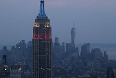 NH0A6220s (michael.soukup) Tags: newyork newyorkcity skyline manhattan empirestate worldtradecenter cityscape sunset dusk skyscraper citylights architecture midtown rockefeller 30rock tower bluehour nyc building