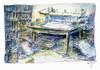 Wolfram Zimmer: Have read - Durchgelesen (ein_quadratmeter) Tags: wolframzimmer bilder kunst malerei gemälde wolfram zimmer konzeptkunst objektkunst mein freiburg burg birkenhof kirchzarten ausstellung ausstellungen peinture exhibition exhibitions bleistift zeichnung zeitung stapel arbeitstisch pencil drawing newspaper stack work table