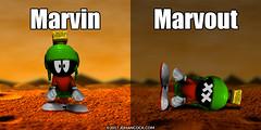 PopFig: Marvin and ... (JD Hancock) Tags: jdhancock popfig comics lol webcomics geeky photocomics fun funny marvinthemartian warnerbros