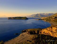 Isola di Dino Calabria (Arcieri Saverio) Tags: italy calabria nikon d5100 landscapes nature sigma sky blue mare mer