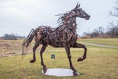 The nuts & bolts of horses (sniggie) Tags: frankfort sculpturegarden kentucky josephinesculpturepark josphinesculpturepark