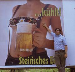 F Rick 1972 7 Austria 230 (tonopah06) Tags: rick 1972 kodachrome austria billboard beer commercial europa europe