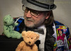 I hear what you're saying (HTBT) (13skies) Tags: happyteddybeartuesday gerry greenbear talking special respect teddybeartuesday teddybear huntley cartoonsuitcoat fedora chat exchange converse talk expression repartee gab comment gossip visit colloquy communication hearing conference observation confabulation consultation debate discussion remark listening speech yak parley