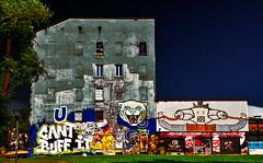 Circolo Anarchico Ripa dei Malfattori (Marco Trovò) Tags: marcotrovò hdr canon5d milano italia italy city street strada naviglio waterway graffiti mural murale casaabbandonata abandonedhouse città anarchistclub circoloanarchico circoloanarchicoripadeimalfattori