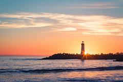 Time to end (matthew_image) Tags: santacruz santa cruz usa california ca us unitedstates united states sunset sunsets shine sun sunlight sunny sea ocean light lightroom lighthouse canon 6d 85mm 858