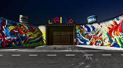 L'artiglio (Marco Trovò) Tags: marcotrovò hdr canon5d milano italia italy city street strada naviglio waterway graffiti mural murale lartiglio