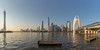 Goodbye 2016 (kevinho86) Tags: panorama canon colour canton city cityscapes cloudy cantontower blue urban 都会 sky skyscraper skyline 全景 空 pearlrivernewtown 珠江新城 天際線 城市 天空 雲 landscape scenery scape 24mm eos6d bridge downtown 建築