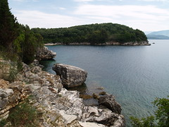 Cove east of Agni (SteveInLeighton's Photos) Tags: may 2009 corfu greece agni