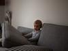 La cachette (Dahrth) Tags: gf1 gf120 gf120mm lumixgf1 panasoniclumixgf1 20mmpancake boy littleboy kid canapé couch hideout