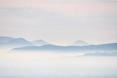Head in the Clouds (Marta Marcato) Tags: blue mountain cloud clouds top sky calm misty italy nikond7200 blu azzurro montagna nuvole nuvola nebbia cielo italia