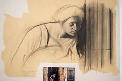 Ernest Pignon Ernest (loutraje) Tags: ernest pignon peintre dessinateur politique social art communisme mamac musée dart moderne des rues street