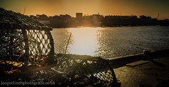Evening at The Fish Quay North Shields (drjacquebaxter) Tags: north shields fishing nets lobster pots lobsters east tyne wear jacquelinebphotografiecouk river industry