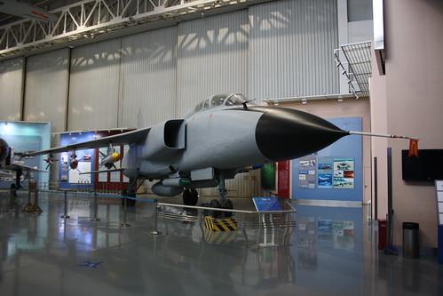 China no marks JH-7A, China Aviation Museum, Chinese, Xiaotangshan 30th October 2016