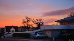 Dusk (iJoydeep) Tags: dusk sunset winter moon nature nikon d7000 wideangle ijoydeep