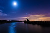 Moonlight Shadow (jammo s) Tags: turffen howhill reflection moon moonlight riverant norfolk night thenightsky norfolkbroads windmill sky lightroom canoneos6d canonef1740mmf4lusm