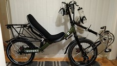 Added fenders and front bottle cages (gunnsteinlye) Tags: recumbent bicycle cruzbike quest skien norway