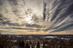 Stop looking down at the ground (OR_U) Tags: 2017 oru germany walbeck landscape village clouds sky sunset newtonfaulkner winter saxonyanhalt