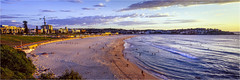 Early Summer Morning (Dusty Dog Imaging) Tags: film analogue linhof technorama panorama panoramic bondi bondibeach seascape morning sunrise summer