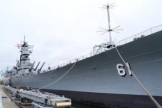 USS Iowa, BB-61