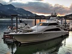 M/Y Cielo Mare (B737Seattle) Tags: ocean mountains alaska clouds island boat high dock nikon mare dynamic yacht vessel juneau cielo coolpix motor timothy douglas range luxury hdr channel 2014 gastineau ivf kalweit my p510 b737seattle