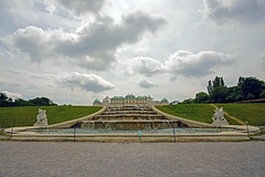 At the Belvedere (nydavid1234) Tags: vienna sky castle fountain gardens clouds landscape austria nikon landmark belvedere d600 nydavid1234