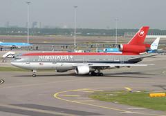 N233NW DC-10 Northwest (JaffaPix +3 million views-thank you.) Tags: airplane airport nw northwest aircraft aviation aeroplane airline schipol ams nwa airliner dc10 eham 25may05 amsterdamairport n233nw jaffapix davejefferys