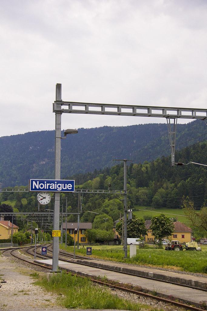 Noiraigue gare