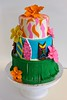 luau2015 (SweetTreetsBakery) Tags: cake birthdaycake luau luauparty