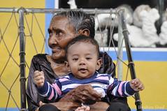 Sithi Maama & Aidhaan (photographyiru) Tags: old people bw white black beautiful photography top and maldives guraidhoo kaafu kguraidhoo