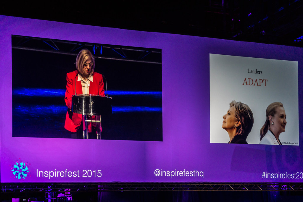 Trailblazing Women- Shelly Porges, National Finance Co-Chair, Ready for Hilary [Inspirefest 2015] REF-105790