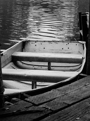 my ship has come in (claire costigan hintze) Tags: water boat dock nikond700 schwanlake