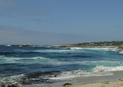 Pebble Beach (E.Clerc) Tags: california blue usa beach nature monterey waves shades pebblebeach