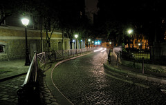 Place Constantin Pecqueur, Paris (j.logo) Tags: city nightphotography urban paris night ledefrance nightshot montmartre iledefrance parisbynight cobbledstreet paris18me paris18tharrondissement