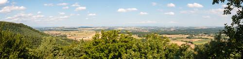 Panorama depuis le Mont Saint-Michel à Saint-Jean-Saverne