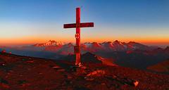 Hocharn 3254m (ernst.weberhofer) Tags: sunrise sonnenaufgang rauris johannisberg bärenkopf hochtor kolmsaigurn hocharn grosglockner hohertenn groseswiesbachhorn