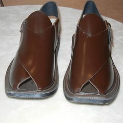 Brown Peshawar Chappal (khyberbazaar.com) Tags: chappal peshawari peshawarifootwear pakistanifootwear