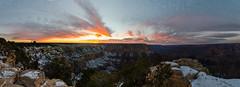 Sunset at the Grand Canyon (Jake Wang) Tags: sunset grand canyon arizona panoramic panorama yavapaipoint southrim grandcanyon