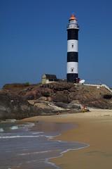 Lighthouse #2 (jeet_sen) Tags: sea sand beach people sun travel india karnataka mangalore udupi malpe murudeshwar honnavar kundapura kodi kapu tourism island konkan