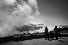 (sparth) Tags: hurricaneridge washington washingtonstate wa blackwhite blackandwhite bw brouillard noirblanc noiretblanc fog foggy mountains nikoncoolpixa nikon coolpix a coolpixa