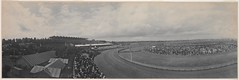 Panorama of Melbourne Cup, Flemington, 1903 / by Melvin Vaniman (State Library of New South Wales collection) Tags: statelibraryofnewsouthwales panorama