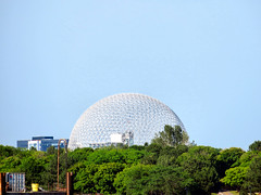 Montreal Biosphere, Montreal, Quebec, Canada (duaneschermerhorn) Tags: architecture architect fuller buckminster rbuckminsterfuller buckministerfuller environment environmental ecology ecologicaldome geodesic geodesicdome montreal canada quebec expo expo67 manandhisworld fair worldsfair design building graphic abstract sky museum outdoor