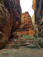 Badami Fort (Vinda Kare) Tags: india ancient karnataka badami vatapi bagalkot fort sandstone