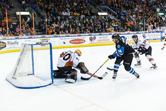 "Missouri Mavericks vs. Wichita Thunder, January 7, 2017, Silverstein Eye Centers Arena, Independence, Missouri.  Photo: John Howe / Howe Creative Photography • <a style=""font-size:0.8em;"" href=""http://www.flickr.com/photos/134016632@N02/31872460480/"" target=""_blank"">View on Flickr</a>"