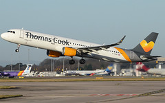 A321 Thomas Cook (matgawron) Tags: plane planespotting airport landing gear power airbus boeing man egcc b757 ielandair a321 a320 a319 sas aegan brussels austrian embraer a170 a175a190 a195 american usa delta b763 b767 b752 b747 thomas cook easyjet ryanair vueling cathay pacific hainan b777 b773 b772 sun v1 rotate take off