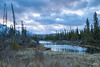 Fair East Side (Quincey Deters) Tags: 2015 alberta allrightsreserved blue canada cloud colourimage creek fallcolours forest gloryhole grass horizontal january jasper jaspernationalpark landscape morning mountain nature northamerica outdoor pastel purple reflection sky tree water winter â©quinceydeters