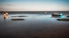 Low tide (Chas56) Tags: lowtide tide beach sea seaside seascape boat water waterfront wading grandfather grandson canon canon5dmkiii ndfilter longexposure portphillipbay campbellcove horizon shallows shallow reflection reflections