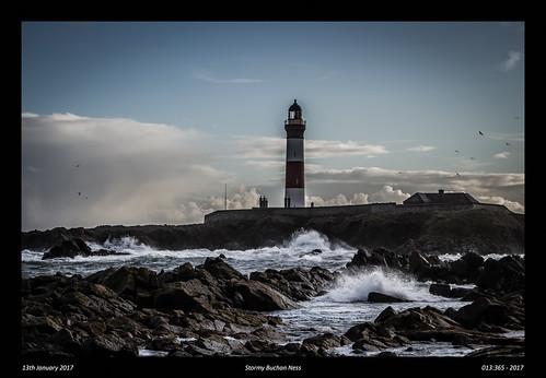 Stormy Buchan Ness